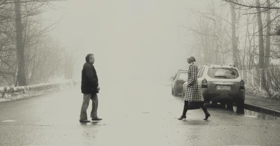Москва. Улица Пехотная Туман