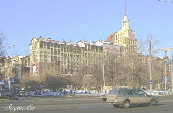 Жилой комплекс на улице Маршала Рыбалко