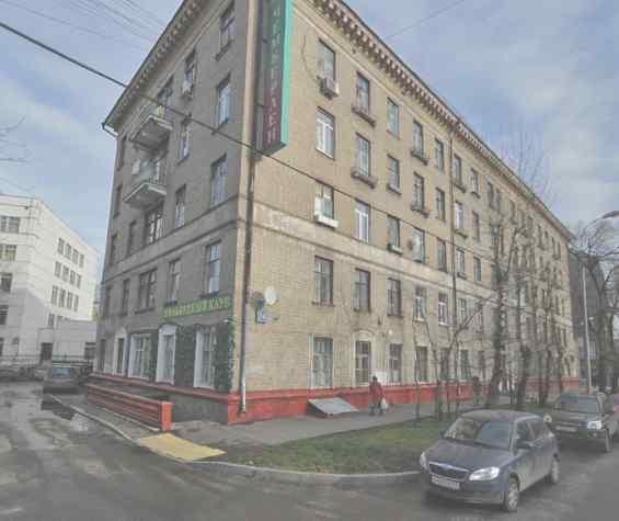 Москва улица Берзарина
