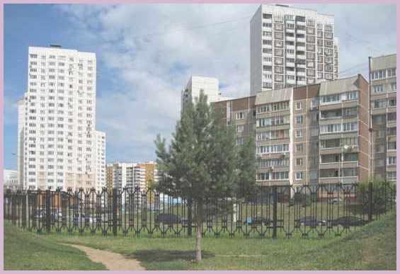 Москва Район Митино. Улица Барышиха. Ландшафтный парк  10 лет назад, летом 2009 года