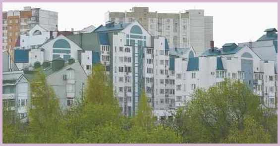 Москва район Митино в летний период