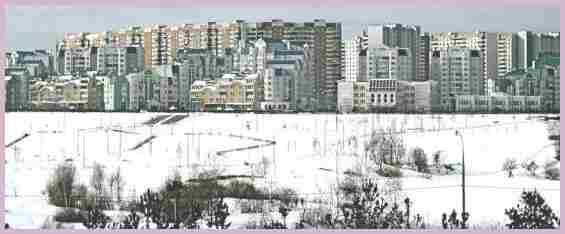 Новостройки в Митино в зимний период