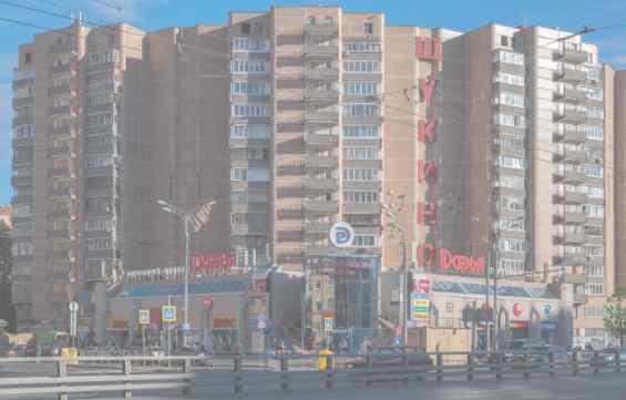 Район Щукино. Пересечение улиц Народного Ополчения и Маршала Бирюзова