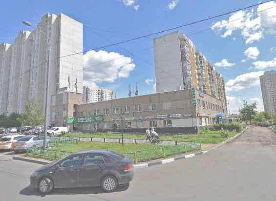 Москва. Дубравная улица д. №39