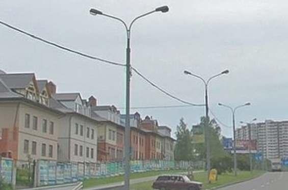 Таунхаусы на московской улице Саломеи Нерис