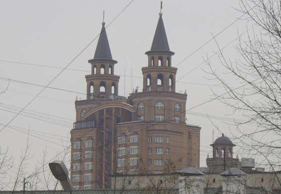 Дом на улице Ирины Левченко