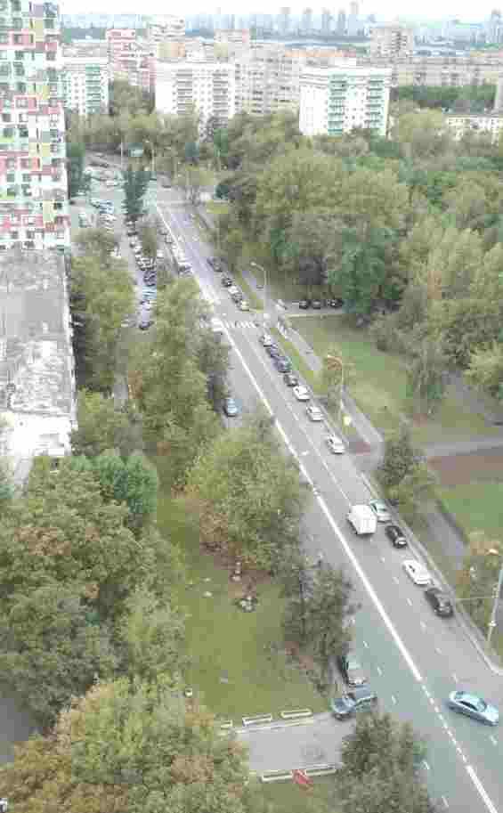 Улица Маршала Тухачевского вид с 22-го этажа