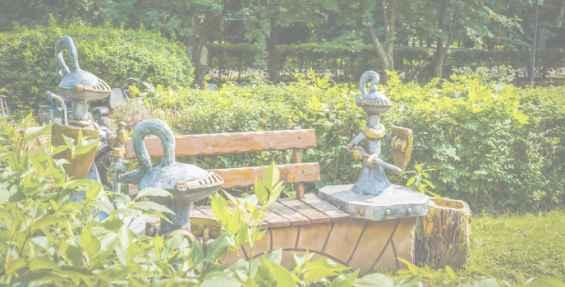 Сказочные рыцари в парке Северное Тушино